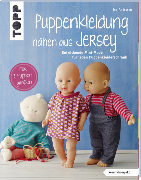 Puppenkleidung nähen aus Jersey (kreativ.kompakt.)