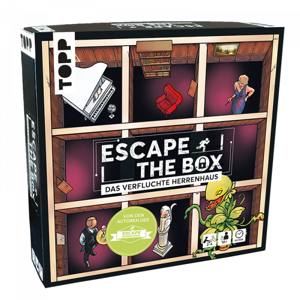 Escape The Box - Das verfluchte Herrenhaus
