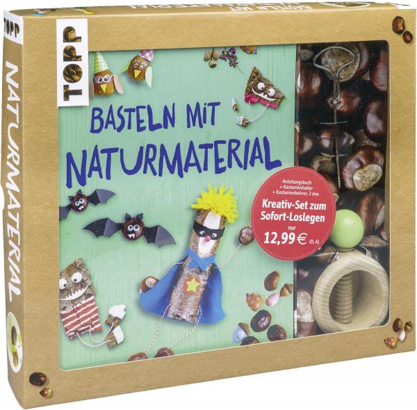 Kreativ-Set Basteln mit Naturmaterial