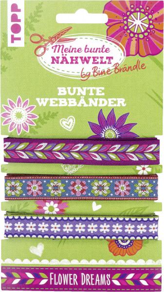 Bine Brändle Bunte Webbänder Flower Dreams