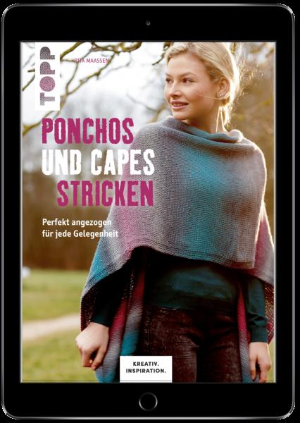 Ponchos und Capes stricken (eBook)
