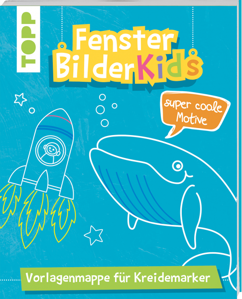 Fensterbilder Kids Super coole Motive