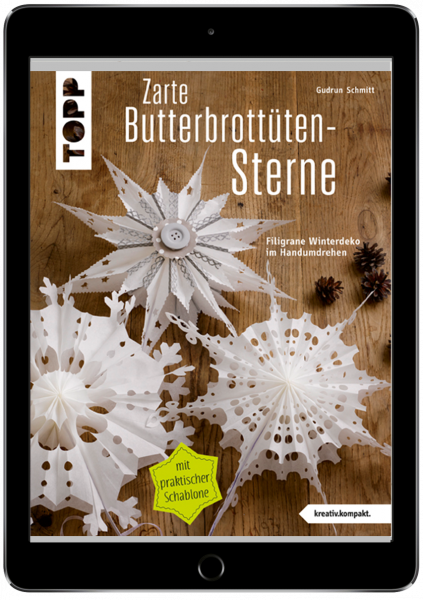 Zarte Butterbrottütensterne (eBook)