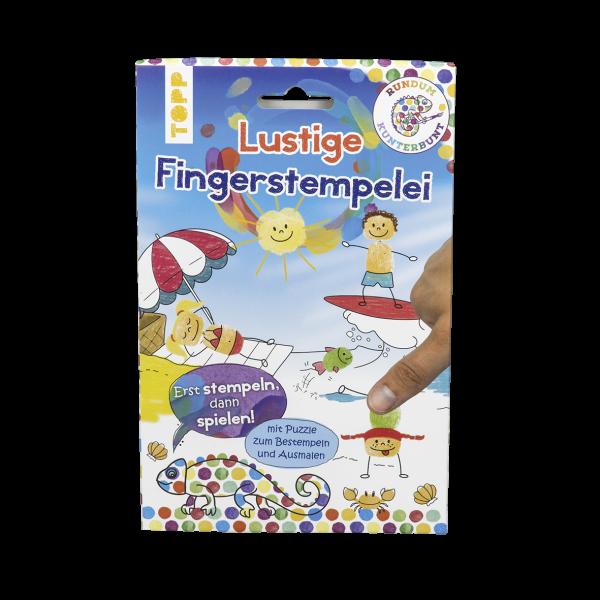 Rundum Kunterbunt Lustige Fingerstempelei Set