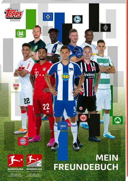 Das offizielle Fußball Bundesliga Freundebuch von topps